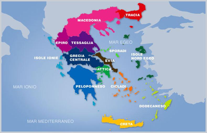 Cartina Della Grecia Con Isole.Grecia Scegli L Isola Per La Tua Prossima Vacanza