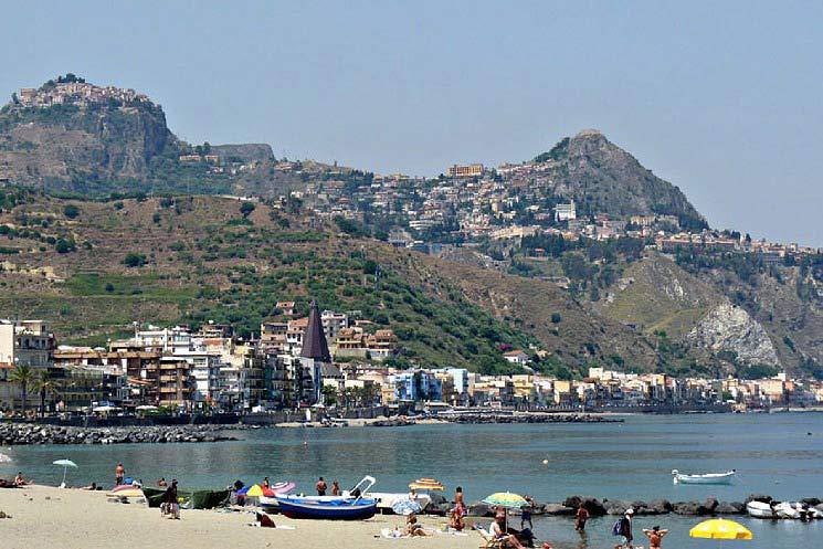 Le pi belle spiagge della sicilia tutte da scoprire - Centro benessere giardini naxos ...